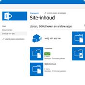 SharePoint Site-Inhoud