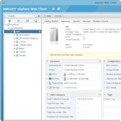 VMware vSphere web client